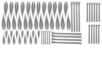 Samolepka v balení -Bambusové větvičky