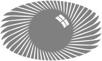 Samolepka v balení -Egyptské oko