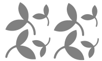 Samolepka v balení -Barevné listí
