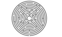 Samolepka v balení -Labyrint