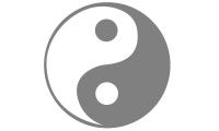 Samolepka v balení -Jin a jang