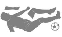 Samolepka v balení -Fotbalista