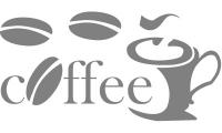 Samolepka v balení -Čerstvá káva