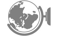 Samolepka v balení -Globus