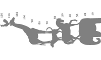 Samolepka v balení -Zvířátkový metr