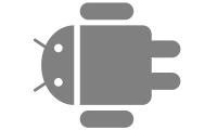 Samolepka v balení -Android