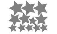 Samolepka v balení -Hvězdy
