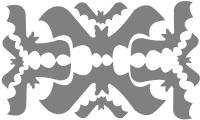 Samolepka v balení -Netopýři
