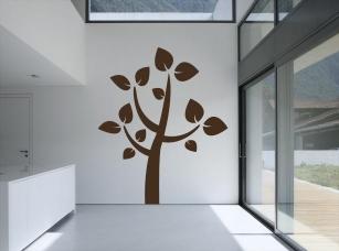 Bonsai samolepka na zeď