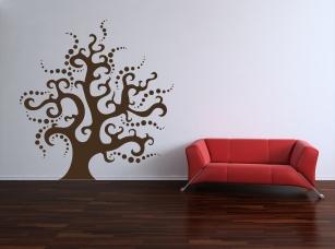 Kouzelný strom samolepka na zeď
