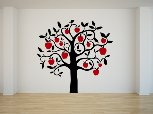 Jabloň samolepka na zeď