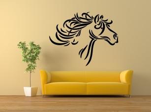 Mustang samolepka na zeď