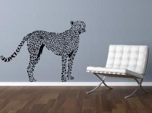 Gepard samolepka na zeď