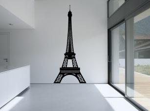 Eiffelova věž samolepka na zeď