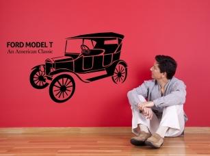 Ford Model T samolepka na zeď