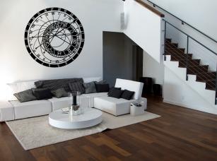 Orloj samolepka na zeď