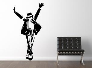 Michael Jackson samolepka na zeď