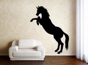 Divoký kůň samolepka na zeď